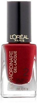 L'Oreal Extraordinaire Gel-lacquer Nail Color, Hot Couture,(Pack Of 3), Gel Nails, L'Oreal, makeupdealsdirect-com, [variant_title], [option1]