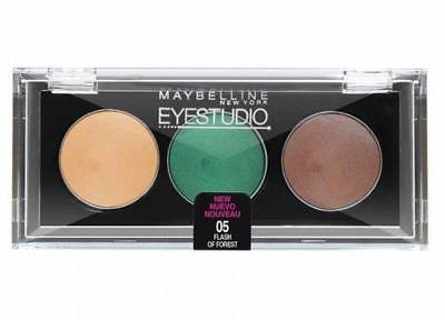 Maybelline Eye Studio Quad Eye Shadow CHOOSE YOUR COLOR, Eye Shadow, Maybelline, makeupdealsdirect-com, 05 Flash of Forest, 05 Flash of Forest
