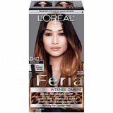 L'Oreal Feria Ombre, Brush On Ombre Effect Hair Color CHOOSE YOUR COLOR, Hair Color, L'Oreal, makeupdealsdirect-com, 040 For Soft Black to Black Hair, 040 For Soft Black to Black Hair