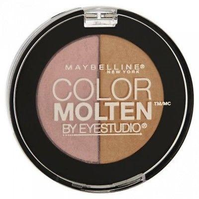 Maybelline Eye Studio Color Molten Eye Shadow Duo CHOOSE YOUR COLOR, Eye Shadow, Maybelline, makeupdealsdirect-com, 300 Nude Rush, 300 Nude Rush