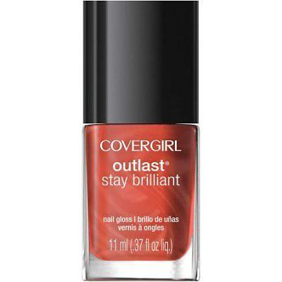 Covergirl Outlast Stay Brilliant, Nail Gloss, Nail Polish, COVERGIRL, makeupdealsdirect-com, [variant_title], [option1]