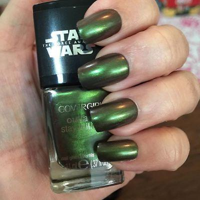 Covergirl Star Wars The Force Awakens, Outlast Stay Brilliant 50 Emerald Blaze, Nail Polish, COVERGIRL, makeupdealsdirect-com, [variant_title], [option1]