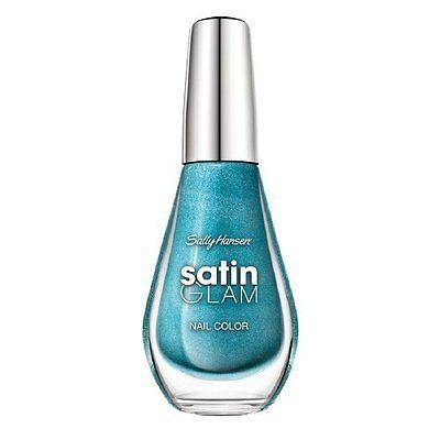 Sally Hansen Satin Glam Nail Color - Teal Tulle (Pack Of 2), Nail Polish, Sally Hansen, makeupdealsdirect-com, [variant_title], [option1]
