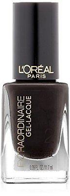 L'Oreal Extraordinaire Gel-lacque, Glossed & Found, 0.39 Fl Oz (3 Pack), Gel Nails, L'Oreal, makeupdealsdirect-com, [variant_title], [option1]