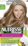 Garnier Nutrisse Nourishing Color Foam Permanent Hair Color (CHOOSE YOUR COLOR), Hair Color, nutrise, makeupdealsdirect-com, 7 Dark Blonde, 7 Dark Blonde