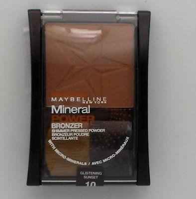 Maybelline Mineral Power Bronzer ~10 Glistening Sunset, Bronzers & Highlighters, Maybelline, makeupdealsdirect-com, [variant_title], [option1]