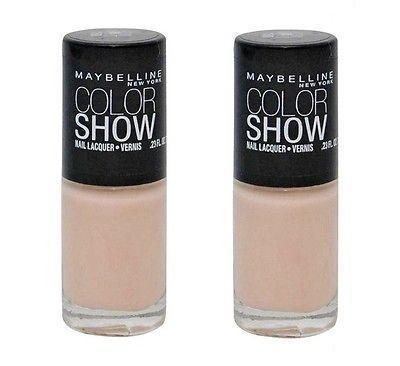 . 2 Pack - Maybelline Color Show Nail Lacquer, 150 Born With It, Nail Polish, Maybelline  - MakeUpDealsDirect.com