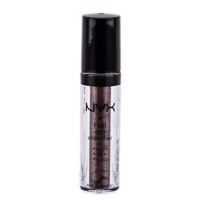 NYX Roll On Shimmer For Eyes, Face & Body color RES13 Chestnut,, Eye Shadow, NYX  - MakeUpDealsDirect.com