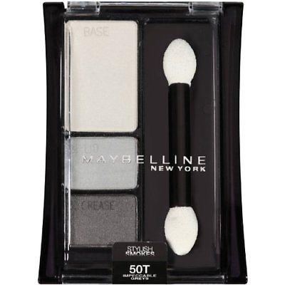 Maybelline New York Expertwear Eye Shadow, Impeccable Greys 50, Eye Shadow, Maybelline  - MakeUpDealsDirect.com