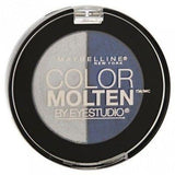 Maybelline Eye Studio Color Molten Eye Shadow Duo CHOOSE YOUR COLOR, Eye Shadow, Maybelline, makeupdealsdirect-com, 304 Sapphire Mist, 304 Sapphire Mist