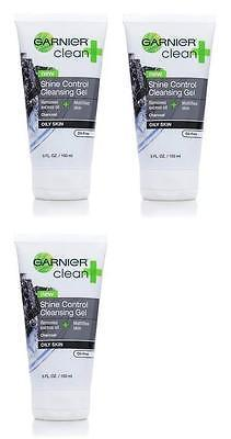 Garnier Clean And Shine Control Cleansing Gel 5 Fl Oz (PACK OF 3), Body Lotions & Moisturizers, Garnier Skin and Hair Care, makeupdealsdirect-com, [variant_title], [option1]