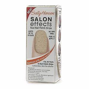 Sally Hansen Salon Effects Real Nail Polish Strips Glitz Blitz, Artificial Nail Tips, Sally Hansen  - MakeUpDealsDirect.com