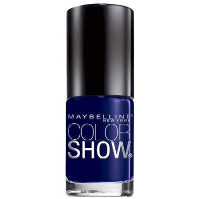 Colorshow Nail Lacquer 345 Midnight Blue By Maybelline, Nail Polish, Maybelline  - MakeUpDealsDirect.com