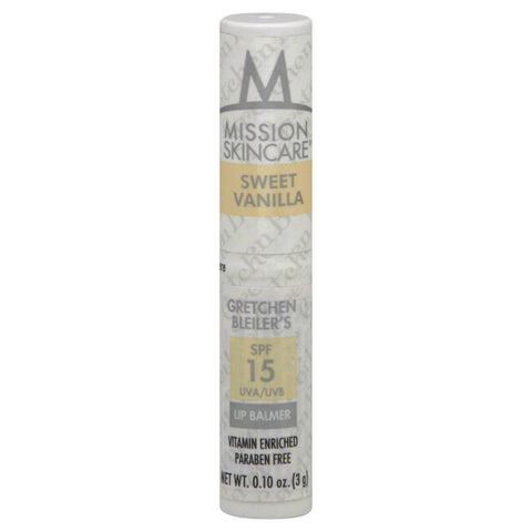 Mission Skin Care Spf15 Lip Balm, Sweet Vanilla Choose Your Pack, Lip Balm & Treatments, reddonut, makeupdealsdirect-com, Pack of 1, Pack of 1