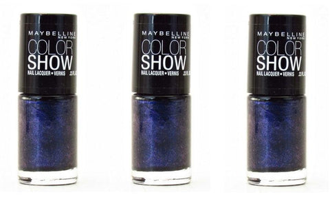 Maybelline Colorshow Nail Polish 350 Blue Freeze Choose Your Pack