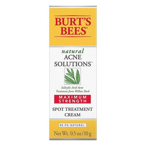 Burt Bees Acne Solutions Targeted Spot Treatment Max Strength Choose Your Pack, Acne & Blemish Treatments, Burt's Bees, makeupdealsdirect-com, Pack of 1, Pack of 1
