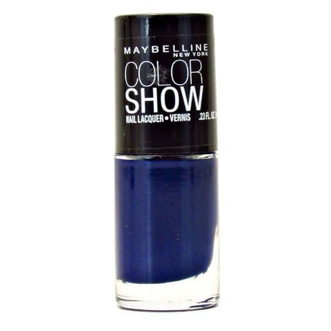 Maybelline Colorshow Nail Lacquer 360 Sapphire Siren Choose Your Pack, Nail Polish, Maybelline, makeupdealsdirect-com, Pack of 1, Pack of 1