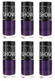 Maybelline Colorshow Nail Polish, 280 Plum Paradise Choose Your Pack, Nail Polish, Maybelline, makeupdealsdirect-com, Pack of 6, Pack of 6