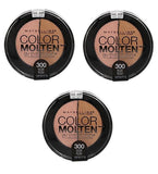 Maybelline Color Studio Eye Molten Eye Shadow, 300 Nude Rush Choose Your Pack, Eye Shadow, Maybelline, makeupdealsdirect-com, Pack of 3, Pack of 3