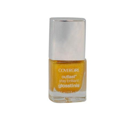 Covergirl Outlast Glosstini Nail Polish 600 Sulfur Blaze Choose Pack, Nail Polish, Covergirl, makeupdealsdirect-com, Pack of 1, Pack of 1