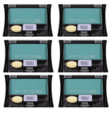 Maybelline Expert Wear Eyeshadow, 130S Turquoise Glass CHOOSE YOUR PACK, Eye Shadow, Maybelline, makeupdealsdirect-com, Pack of 6, Pack of 6