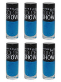 Maybelline Color Show Nail Polish, 990 Azure Seas Choose Your Pack, Nail Polish, Maybelline, makeupdealsdirect-com, Pack of 6, Pack of 6