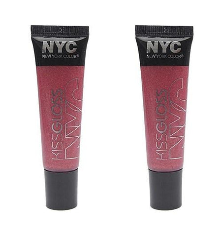 (3 Pack) NYC Applelicious Glossy Lip Balm - Apple Blossom (DC) Kleancolor Eggbomb Lip Balm Set, 4 pc