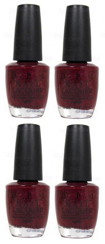 Lot of 4 Opi Nail Lacquer Pepe's Purple Passion, Other Nail Care, OPI  - MakeUpDealsDirect.com