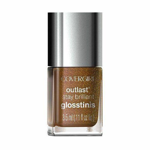 Covergirl Outlast Stay Brilliant Mini 630 Seared Bronze, Nail Polish, CoverGirl  - MakeUpDealsDirect.com