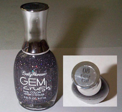 Sally Hansen Gem Crush Nail Color 08 Glitz Gal, Nail Polish, SALLY HANSEN, makeupdealsdirect-com, [variant_title], [option1]