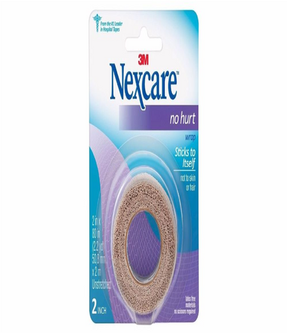 "Nexcare™ No Hurt 2""x80"" Self-Adherent Wrap, Bandages, Gauze & Dressings, Nexcare, makeupdealsdirect-com, [variant_title], [option1]"