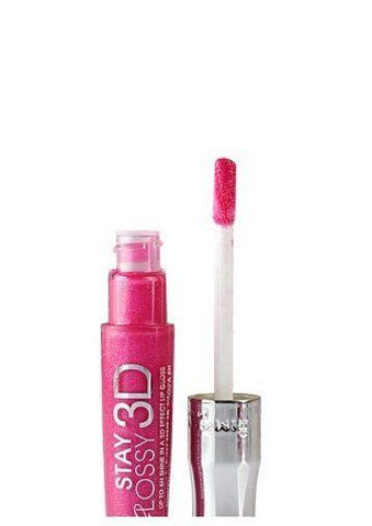 Rimmel Stay Glossy 3d Lipgloss - Candy Floss, Lip Gloss, Rimmel, makeupdealsdirect-com, [variant_title], [option1]
