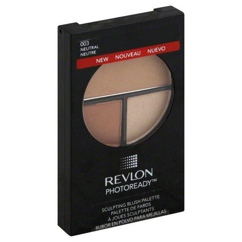 . Revlon  #003 Neutral Sealed Photoready Sculpting Blush Palette, Blush, Revlon  - MakeUpDealsDirect.com