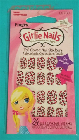 Fingr's Girlie Nails Full Cover Nail Stickers, 32730, Nail Art Accessories, Fing'rs, makeupdealsdirect-com, [variant_title], [option1]