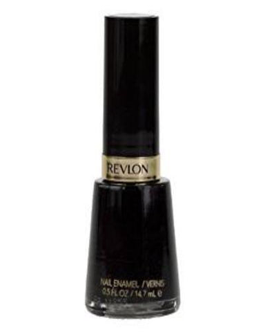 REVLON Nail Enamel #919 BLACK LINGERIE .5 Fl Oz (14.7 Ml), Nail Polish, Revlon, makeupdealsdirect-com, [variant_title], [option1]