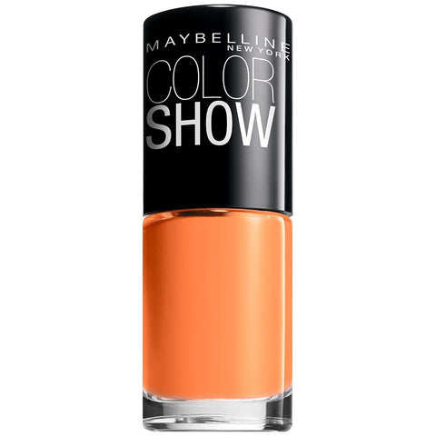 Maybelline Color Show Nail Lacquer #210 Sweet Clementine, Nail Polish, Maybelline, makeupdealsdirect-com, [variant_title], [option1]