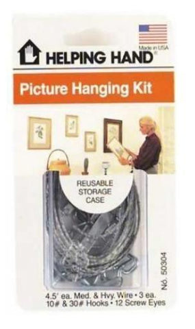 Helping Hand Generic Picture Hanging Kit, Hooks & Hangers, Helping Hand  - MakeUpDealsDirect.com