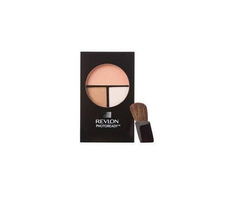 Revlon Photoready Sculpting Blush Palette - Peach 002, Blush, Revlon, makeupdealsdirect-com, [variant_title], [option1]