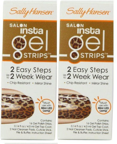 Lot Of 2 - Sally Hansen Insta Gel Strips #370 Walk The Catwalk, Gel Nails, Sally Hansen, makeupdealsdirect-com, [variant_title], [option1]