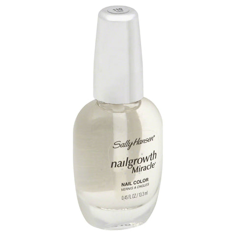"Sally Hansen Nailgrowth Miracle Nail Color ""Choose Your Shade!"", Nail Polish, Sally Hansen, makeupdealsdirect-com, 110 Clear, 110 Clear"