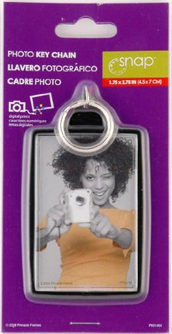 NEW Snap Photo Keychain 1.75x2.75 In, Key Chains, Pinnacle Frames and Accents, makeupdealsdirect-com, [variant_title], [option1]