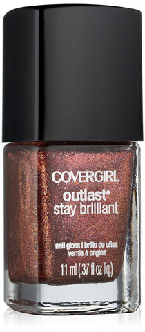 Covergirl Outlast Stay Brilliant Nail Gloss 315 Timeless Rubies, Nail Polish, CoverGirl  - MakeUpDealsDirect.com