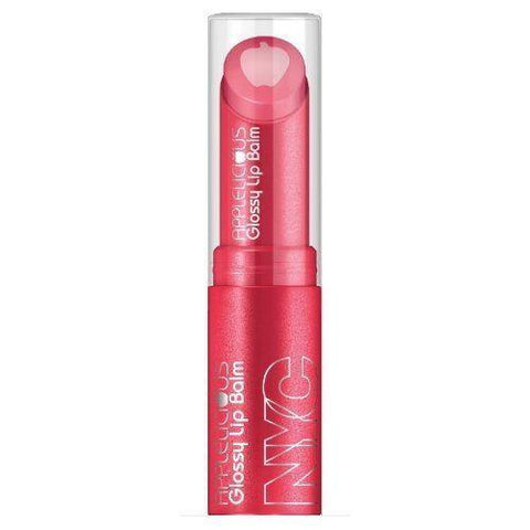 Nyc New York Color Applelicious Glossy Lip Balm 353 Pink Lady, Blush, NYC  - MakeUpDealsDirect.com