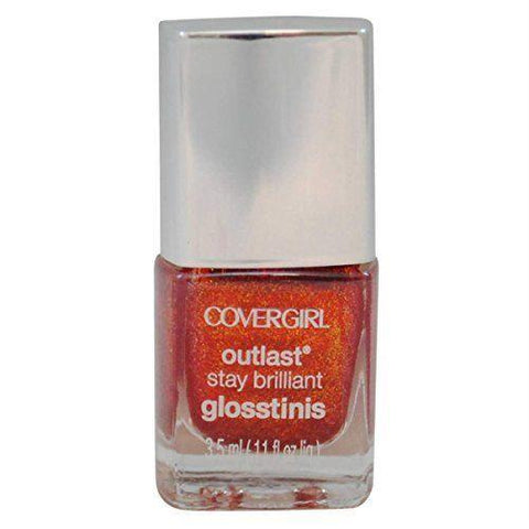 Covergirl Outlast Glosstinis Capitol Collection Nail Gloss 610 Rogue Red, Lipstick, CoverGirl, makeupdealsdirect-com, [variant_title], [option1]