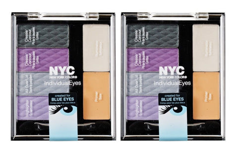 Lot Of 2 - N.y.c. / Nyc Individual Eyes #939 Bryant Park, Eye Shadow, NYC  - MakeUpDealsDirect.com