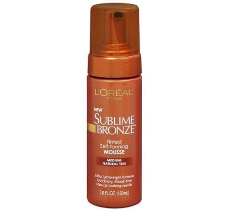 L'Oreal Sublime Bronze  Medium Natural Tan 5 Oz. CHOOSE YOUR PACK !, Sunless Tanning Products, L'Oreal, makeupdealsdirect-com, Lot Of 1, Lot Of 1
