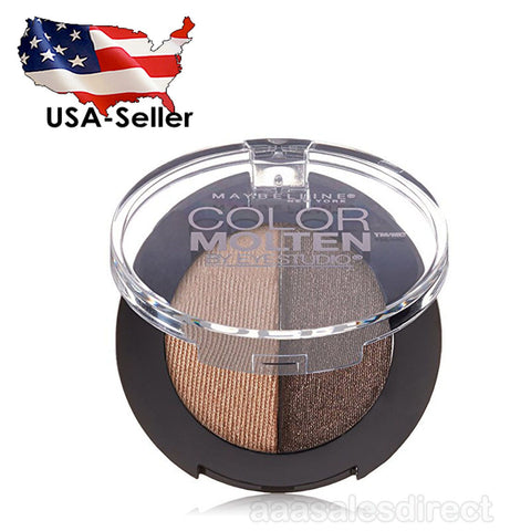 Maybelline New York Eye Studio Color Molten Cream Eye Shadow, Endless Mocha, Eye Shadow, Maybelline  - MakeUpDealsDirect.com