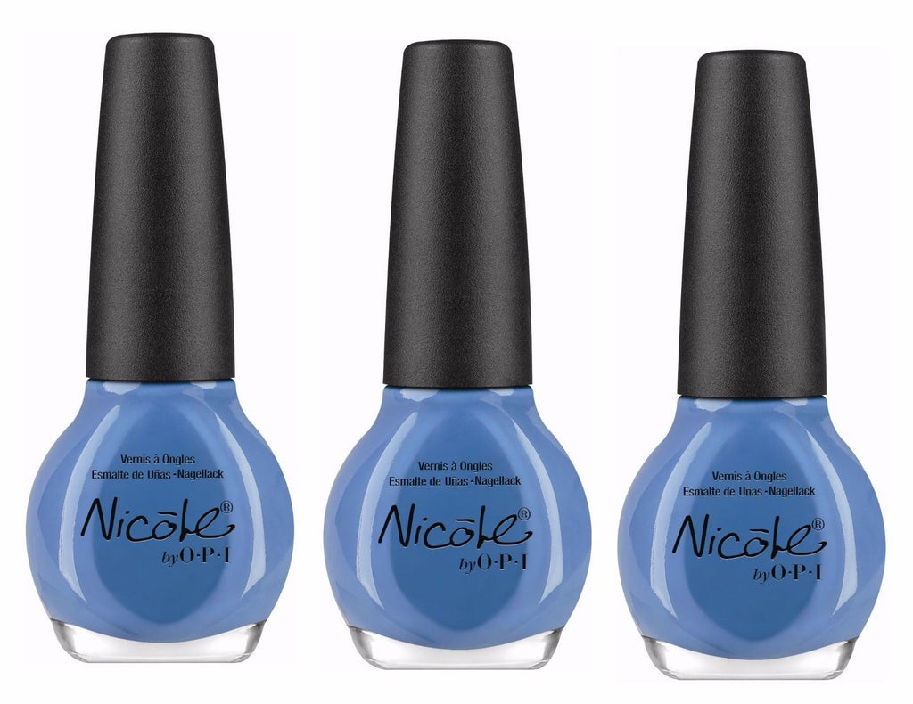 Lot of 3 - Nicole by Opi Nail Polish/lacquer I Sea You and Raise You L