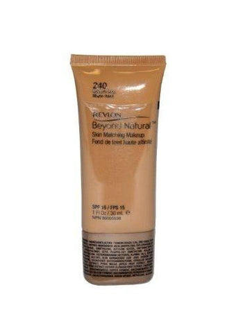 Revlon Beyond Natural Skin Matching Makeup In Shade #240 Medium-deep, Foundation, Revlon, makeupdealsdirect-com, [variant_title], [option1]