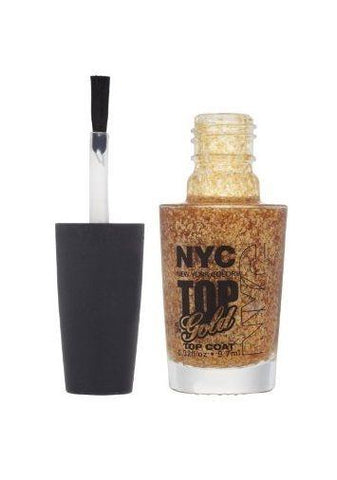 N.Y.C. New York Color Minute Nail Enamel, Top Of The Gold, Manicure/Pedicure Tools & Kits, NYC, makeupdealsdirect-com, [variant_title], [option1]